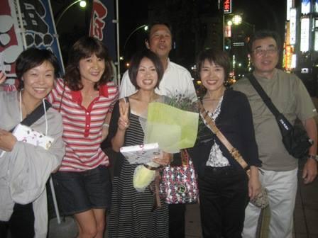 北海道マラソン優勝の打ち上げ