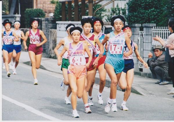 高校3年生高校駅伝の県大会