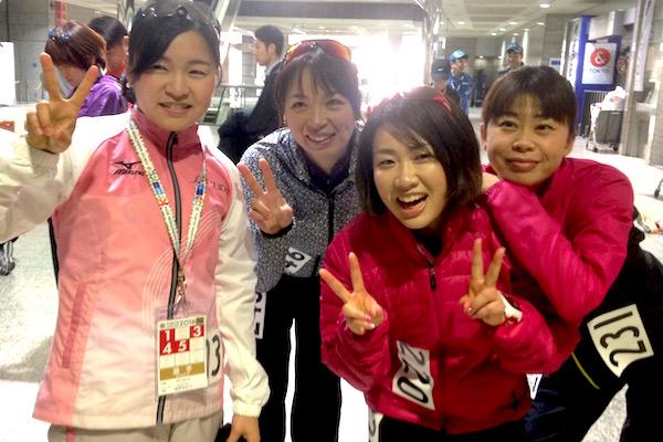東京マラソン2016資生堂メンバー