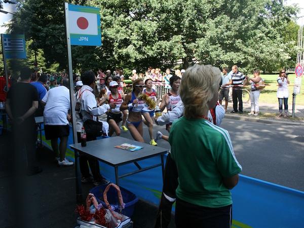 2009年ベルリン世界陸上競技大会給水地点