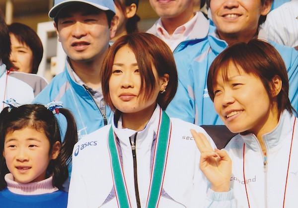 2008年名古屋国際女子マラソン3位入賞した加納由理
