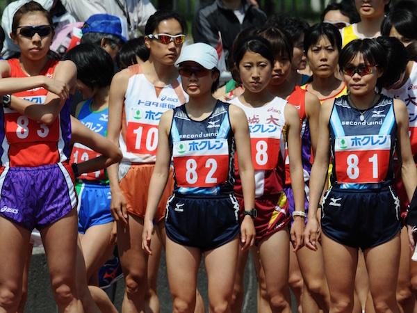 2008年札幌国際ハーフマラソンスタート前