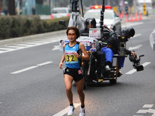加納由理の2008年東京国際女子マラソン