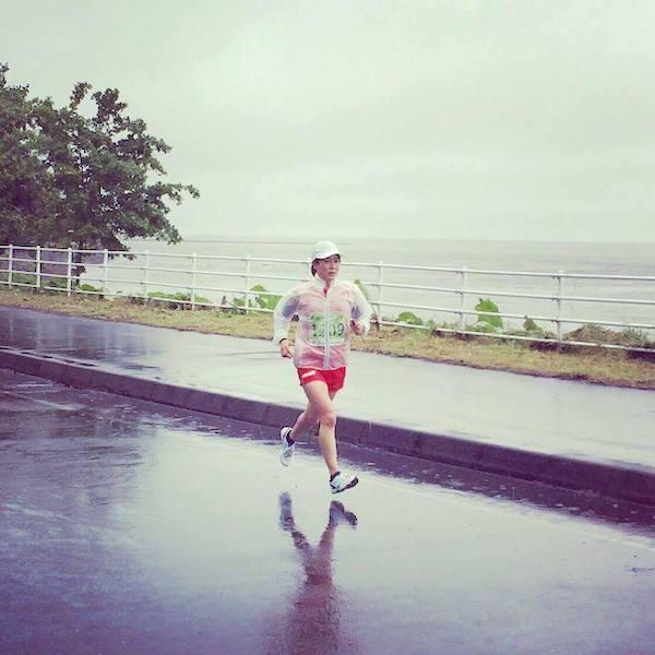 サロマ湖100kmウルトラマラソン加納由理