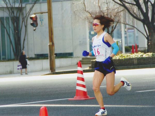加納由理の2008年名古屋国際女子マラソン