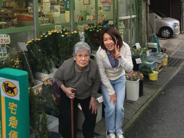 おばあちゃんを訪ねて松江まで来た加納由理